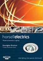 Downlighter Brochure Compact Fluorecent Lamps Horsell Electrics