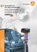 Guided Wave Radar LR Level Sensor Brochure UK