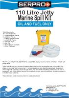 110 Litre Jetty Marine Spill Kit from SERPRO