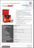 Armorgard FlamBank FB21 - Strong hazardous vault for storing hazardous goods safely and securely