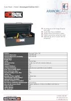 Armorgard OxBox OX2 - As strong as an Ox! Range of secure tool vaults