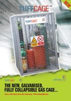 Armorgard TuffCage - The New. Galvanised Fully Collapsible Gas Cage