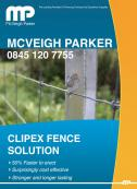 NEW Clipex Fence System