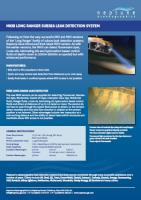 MKiii Long Ranger Subsea Leak Detection-System Factsheet