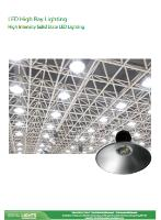 LED High Bay - High Intensity Solid State LED Lighting