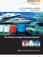 "FiltaKleen Marine.""The Ultimate in Engine Protection Systems"""