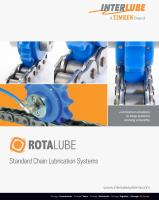 Standard Chain Lubrication Systems