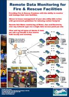 Remote Monitoring of Fire and Rescue Premises