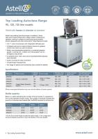 Top Loading autoclave brochure