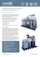 Effluent Decontamination Systems brochure
