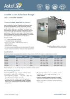 Double Door SQUARE autoclave brochure