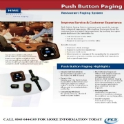 Push Button Paging System