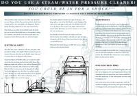 faulty  steam / water  pressure  cleaners  kill  people  every  year