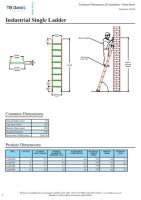 Single Industrial Extension Ladders
