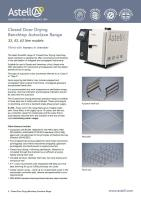 Benchtop Drying autoclave range