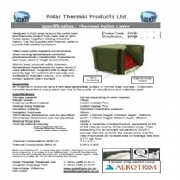 Specification : Thermal Pallet Cover