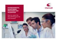 The Environmental Monitoring Processes and Validation Guide - Cherwell Laboratories - 1