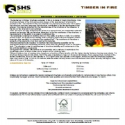 Timber in Fire