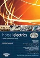 Horsell Electrics LED Downlighter Catalogue
