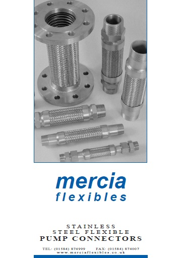 Mercia flexibles flexible hose assemblies expansion joints