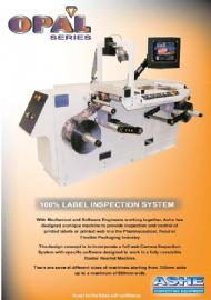 Ashe Converting Equipment - 100% Inspection
