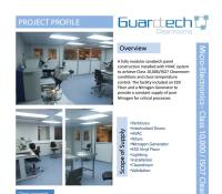 Class 10000 Cleanroom Case Study