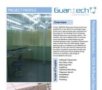 Printed electronics Cleanroom Case Study