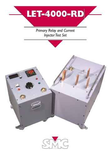 Primary Relay and Current Injector Test Set