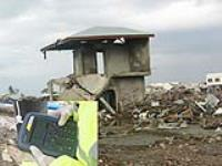 Tohoku tsunami clean-up uses portable gas analyser for CO detection