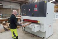 Joinery - Royal Warrant holder chooses a Viet sander