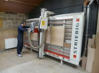 Joinery -  Devon cabinet maker benefits from a used Striebig