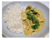CHICKEN & ALMOND CURRY