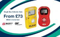Single Gas Detectors from £73