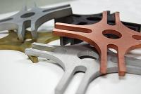 Aluminium waterjet cutting service