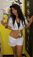Promitional Grid Girl for shows
