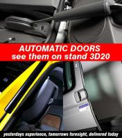 Demonstrating the New Powered Door Systems