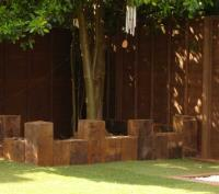 BENCHES & CHAIRS from Railway Sleepers
