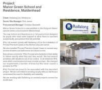 Counthill School Cleans Up with Proclad