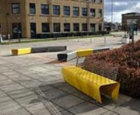 Coordinated benches & seats for Anglia Ruskin University