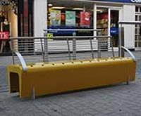 Street furniture, Tullow Street redevelopment, Carlow