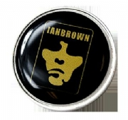 Ian Brown Pin Badge