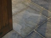 Hardstone Natural Indian Sandstone Paving - Black Charcoal (Yorkstone)