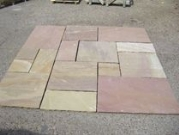Hardstone Natural Indian Sandstone Paving - Camel Dust