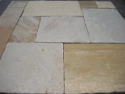 Hardstone Natural Indian Sandstone Paving - Golden Sahara