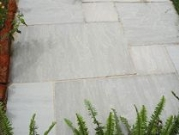 Hardstone Natural Indian Sandstone Paving - Kandla Grey (Tinted Mint)