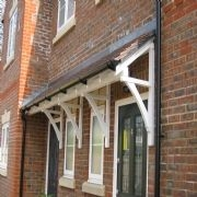 Modest Door Canopies To Design The Entry Of Your Home | The