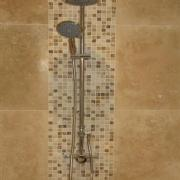 A nicely tiled cloakroom makes a statement that you care