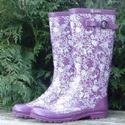 Ladies Pivoine Aigle Wellington Boots