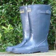 Ladies Blue Briers Wellington Boots