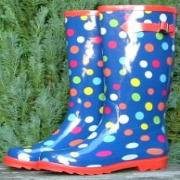 Ladies Multidot Briers Wellington Boots